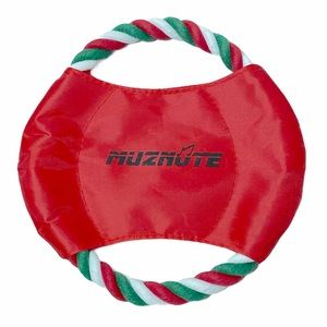 Muznute Dog Toy Red With Colorful Rope Brand New